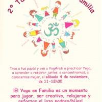 2º Taller de Yoga en Familia