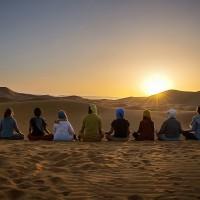 ¡Primer viaje de Yoga al Desierto!