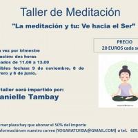 Taller de Meditación de Danielle Tambay